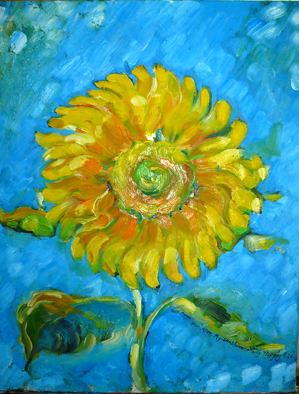 Alex's Sunflower