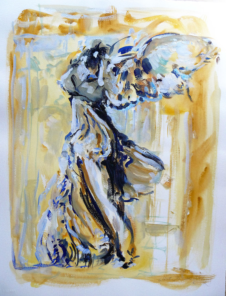 Clare's Winged Victory